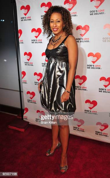 Actress Tamara Tunie attends the 2009 Golden Heart awards at the IAC Building on October 19, 2009 in New York City.