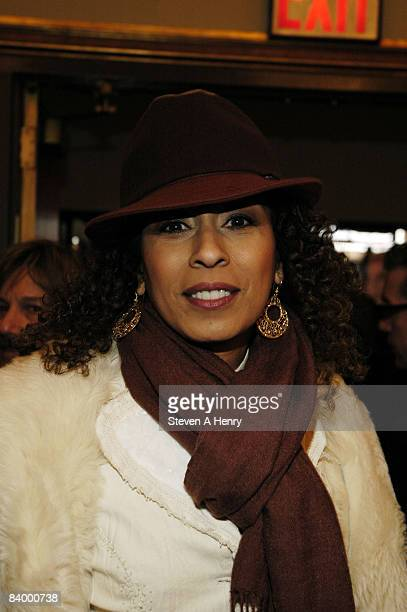 Actress Tamara Tunie attends the opening night of Liza's at the Palace at the Palace Theatre in New York City on December 3 2008