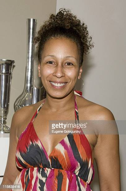Actress Tamara Tunie attends the unveiling of Good Housekeeping's Green House at 151 West 122nd Street on July 30, 2008 in New York City.