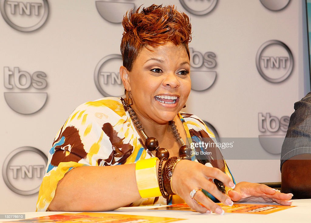 Actress Tamela Mann of the TBS show 'Meet the Browns' attend the