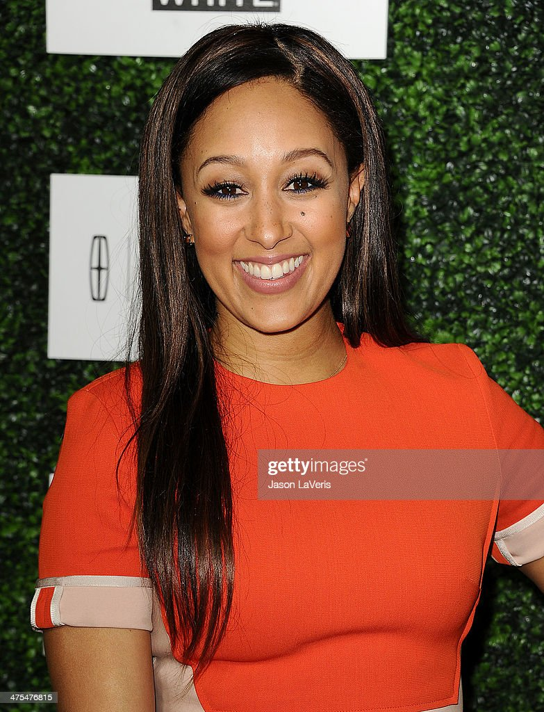 Actress Tamera Mowry attends the 7th annual ESSENCE Black Women In Hollywood luncheon at Beverly Hills Hotel on February 27, 2014 in Beverly Hills, California.