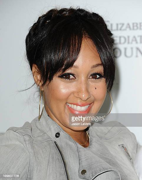 Actress Tamera Mowry attends the Elizabeth Glaser Pediatric AIDS Foundation's 24th annual A Time For Heroes at Century Park on June 2 2013 in Los...