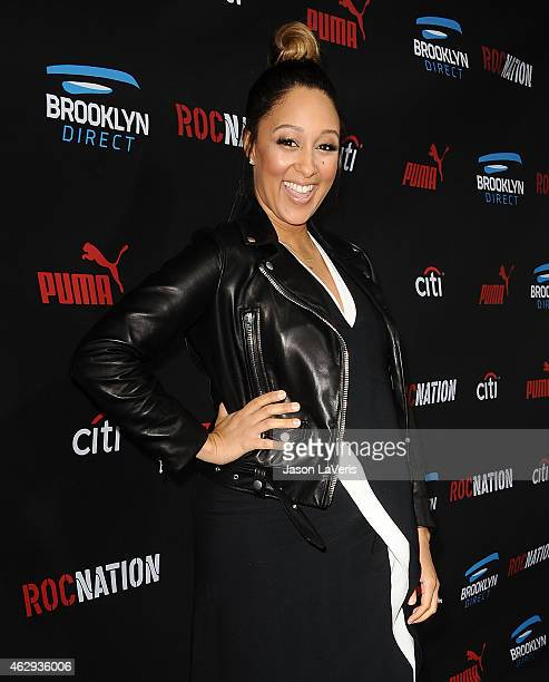 Actress Tamera Mowry attends the Roc Nation Grammy brunch on February 7 2015 in Beverly Hills California
