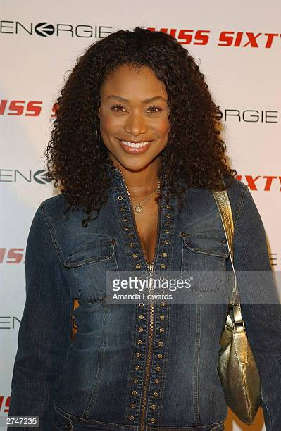 Actress Tami Anderson arrives at the Miss Sixty & Energie After Party at Astra West at the Pacific Design Center on November 19, 2003 in West...