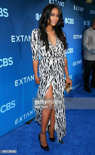 Actress Tami Roman attends Premiere Of CBS Television Studios Amblin Television's Extant at California Science Center on June 16 2014 in Los Angeles...