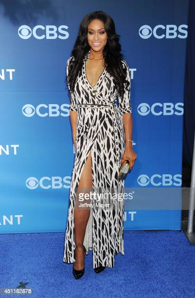 Actress Tami Roman attends the Premiere Of CBS Films' 'Extant' at California Science Center on June 16, 2014 in Los Angeles, California.