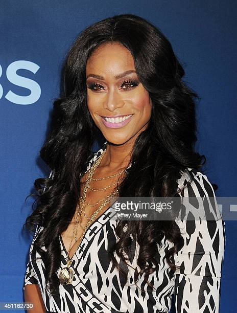 Actress Tami Roman attends the Premiere Of CBS Films' 'Extant' at California Science Center on June 16 2014 in Los Angeles California