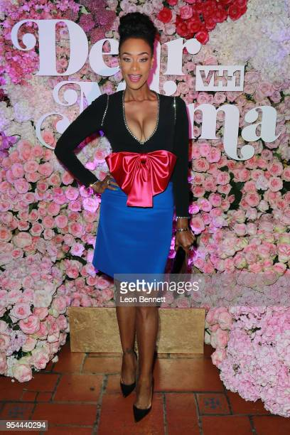 Actress Tami Roman attends the VH1's 3rd Annual Dear Mama A Love Letter To Moms Cocktail Reception at The Theatre at Ace Hotel on May 3 2018 in Los...