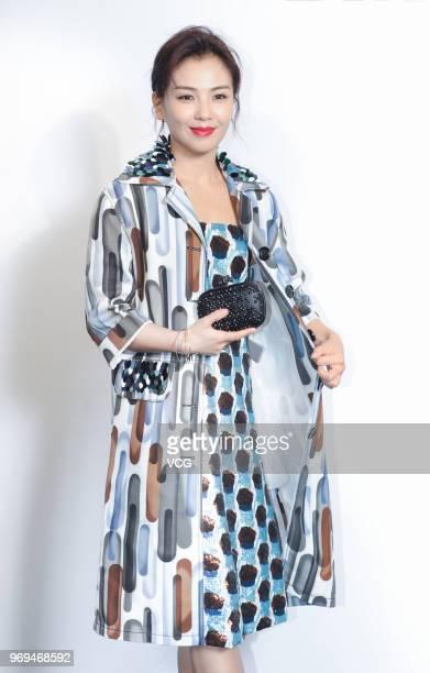 Actress Tamia Liu Tao attends the Bureau Veritas event on June 7, 2018 in Shanghai, China.