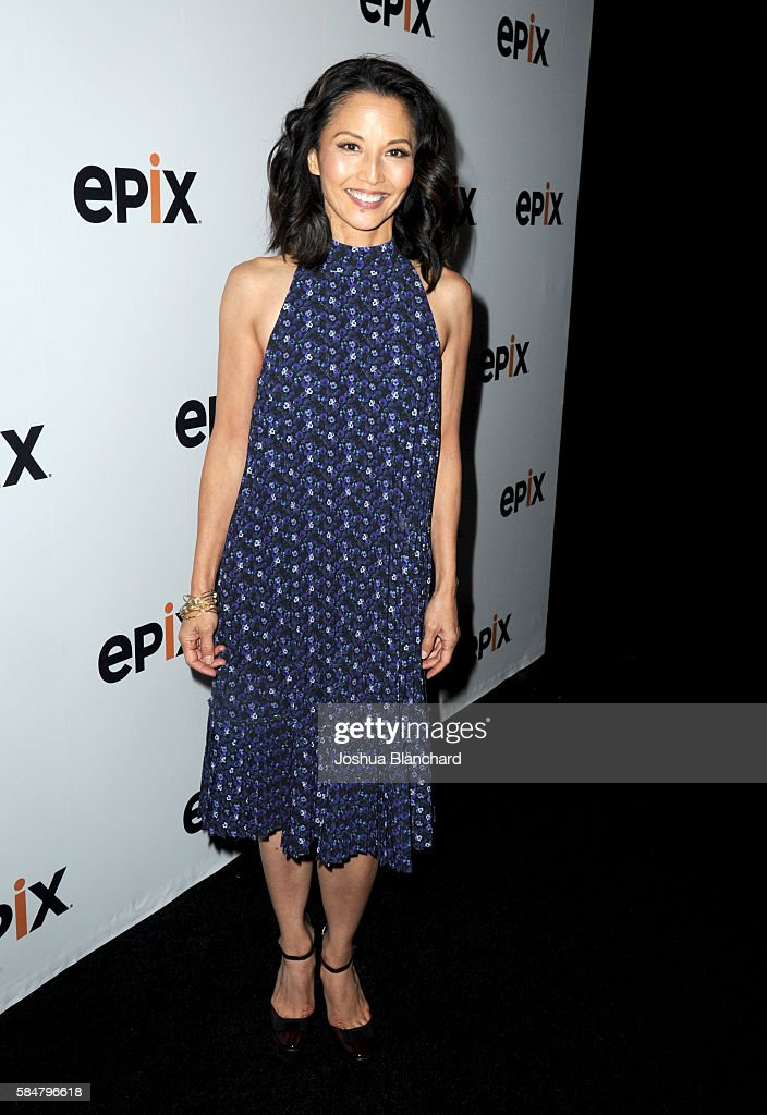 Actress Tamlyn Tomita of 'Berlin Station' attends the EPIX TCA presentation at The Beverly Hilton Hotel on July 30, 2016 in Beverly Hills, California.