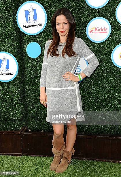 Actress Tammin Sursok attends Safe Kids Day at Smashbox Studios on April 24 2016 in Culver City California