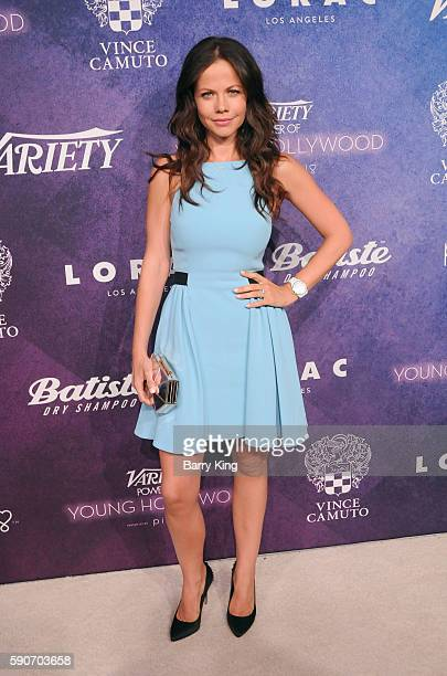 Actress Tammin Sursok attends Variety's Power of Young Hollywood event presented by Pixhug with Platinum Sponsor Vince Camuto at NeueHouse Hollywood...