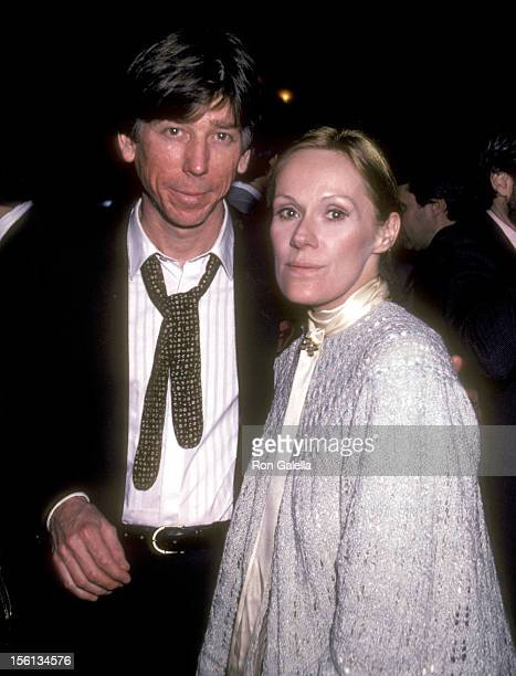 Actress Tammy Grimes and guest attend the Celebration For 'Entertainment Tonight' Coming to ABCTV on January 5 1983 at Tavern on the Green in New...