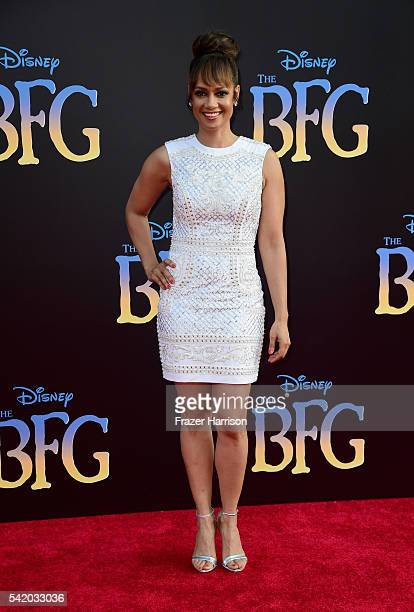 Actress Tammy Townsend attends Disney's The BFG premiere at the El Capitan Theatre on June 21 2016 in Hollywood California