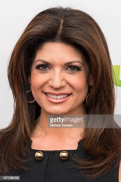 """Actress Tamsen Fadal attends the """"All My Children"""" & """"One Life To Live"""" premiere at Jack H. Skirball Center for the Performing Arts on April 23, 2013..."""