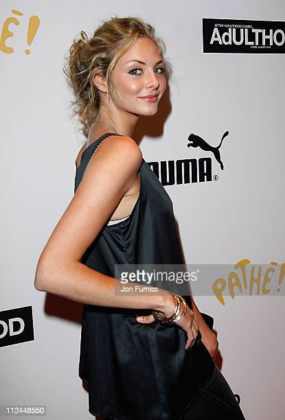 Actress Tamsin Egerton attends the Adulthood film premiere held at the Empire Leicester Square on June 17 2008 in London England