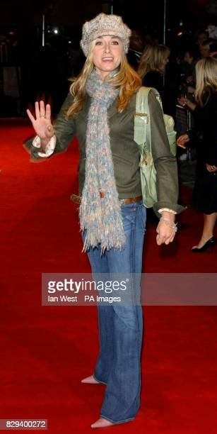 Actress Tamsin Outhwaite arrives for the UK Music Hall Of Fame live final at the Hackney Empire in east London The Channel 4 series looking at...