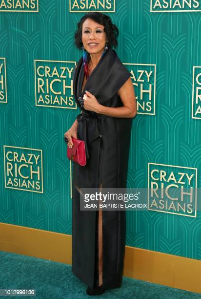 Actress Tan Kheng Hua attends the premiere of Warner Bros Pictures' 'Crazy Rich Asians' in Hollywood California on August 7 2018