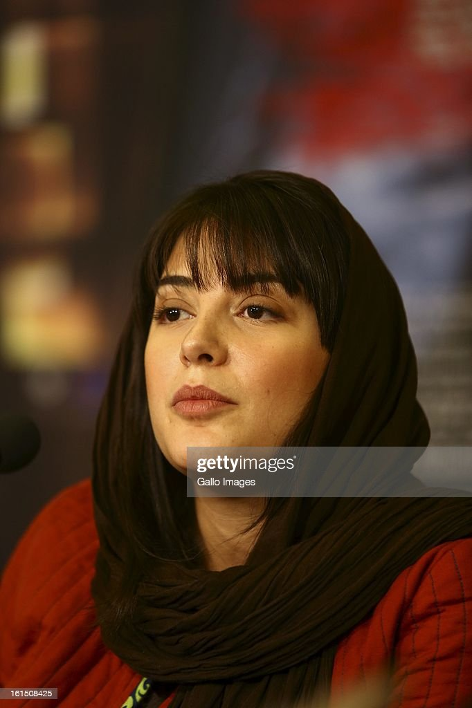 Actress Tanaz Tabatabaee at Day 10 of the 31th International Fajr Film Festival on February 9, 2013 in Tehran, Iran. Organized by the Ministry of Culture and Islamic Guidance, the Film Festival is the most important film event in the country.