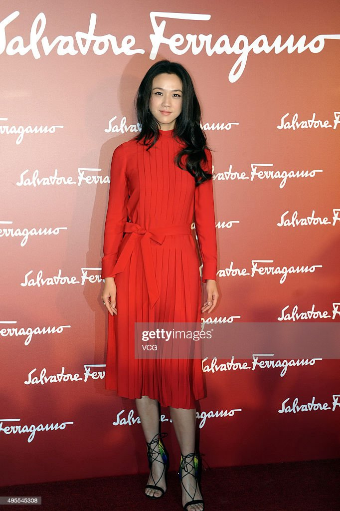 Tang Wei And Jing Boran Attend Salvatore Ferragamo Opening Event In Shanghai