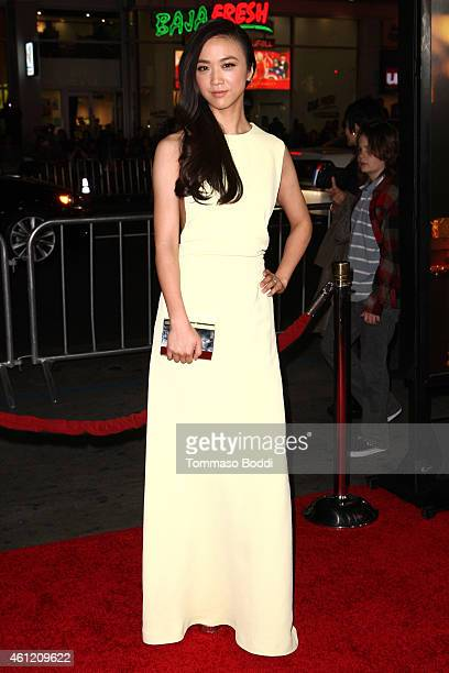 Actress Tang Wei attends the 'Blackhat' Los Angeles premiere held at the TCL Chinese Theatre IMAX on January 8 2015 in Hollywood California