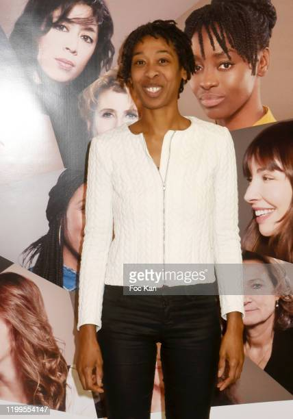 Actress Tania de Montaigne attends Pygmalionnes Screening at Assemblee Nationale on January 14 2020 in Paris France
