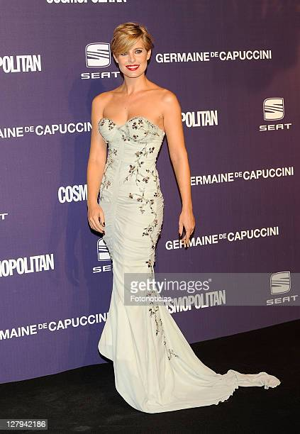 Actress Tania Llasera attends 'Cosmopolitan Fun Fearless Female' Awards 2011 at the Ritz Hotel on October 3 2011 in Madrid Spain