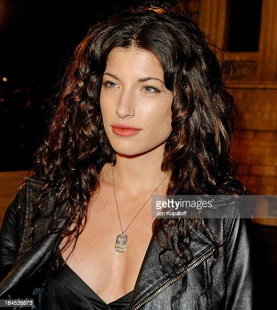 Actress Tania Raymonde arrives at the Los Angeles Premiere Cloverfield at Paramount Studios on January 16 2008 in Los Angeles California