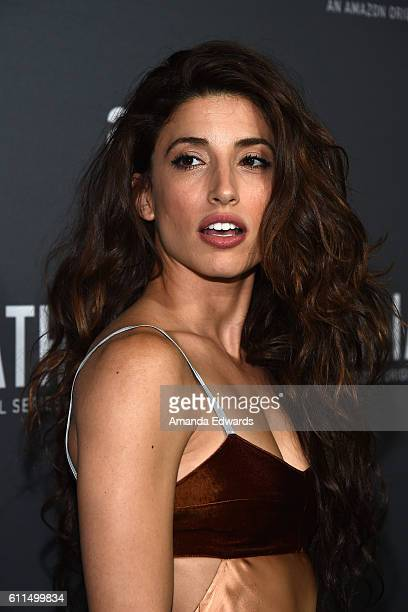 Actress Tania Raymonde arrives at the premiere of Amazon's Goliath at The London West Hollywood on September 29 2016 in West Hollywood California