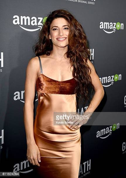 Actress Tania Raymonde arrives at the premiere screening of Amazon's Goliath at The London on September 29 2016 in West Hollywood California