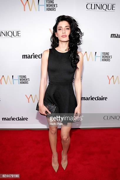 Actress Tania Raymonde attends Marie Claire Young Women's Honors presented by Clinique at Marina del Rey Marriott on November 19 2016 in Marina del...