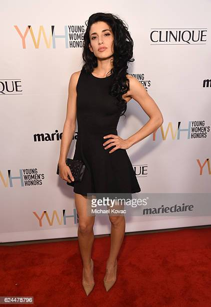Actress Tania Raymonde attends Moet Chandon Celebrates The 2016 Young Women's Honors at Marina del Rey Marriott on November 19 2016 in Marina del Rey...