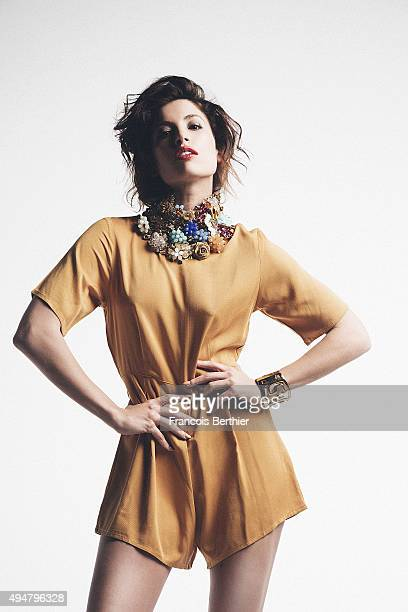 Actress Tania Raymonde is photographed for Self Assignment on April 15 2015 in Paris France