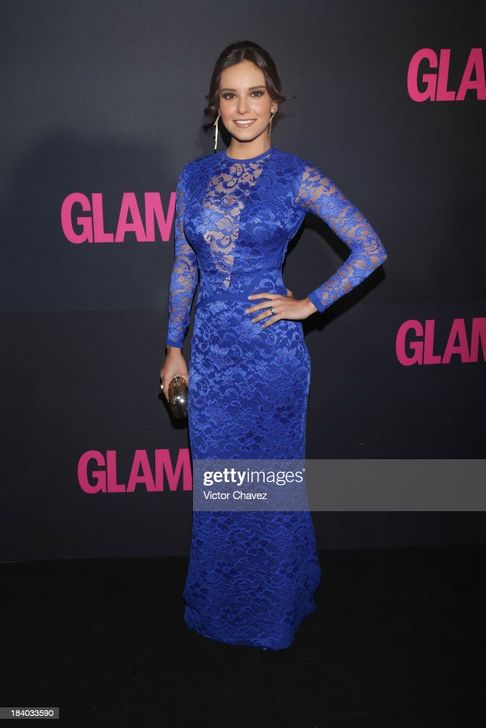 Actress Tania Rincón attends the Glamour Magazine 15th Anniversary at Casino Del Bosque on October 10, 2013 in Mexico City, Mexico.
