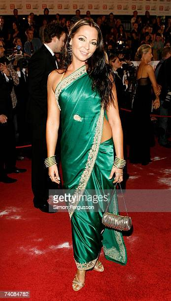 Actress Tania Zaetta arrives at the 2007 TV Week Logie Awards at the Crown Casino on May 6 2007 in Melbourne Australia The annual television awards...