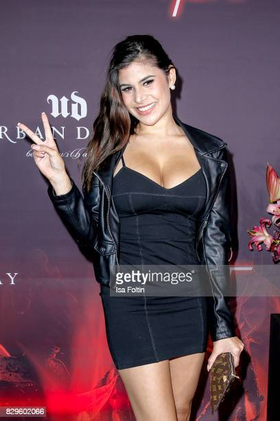 TV actress Tanja Tischewitsch during the Urban Decay Naked Heat Launch at House of Weekend on August 10 2017 in Berlin Germany