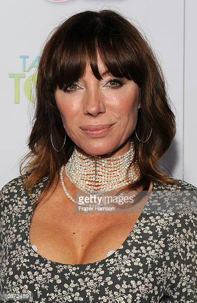 Actress Tanya Newbould arrives at Relativity Media presents the premiere of Take Me Home Tonight held at Regal Cinemas LA Live Stadium 14 on March 2...