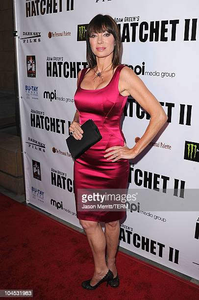 Actress Tanya Newbould arrives at the Hatchet II Los Angeles premiere held at the Egyptian Theatre on September 28 2010 in Hollywood California