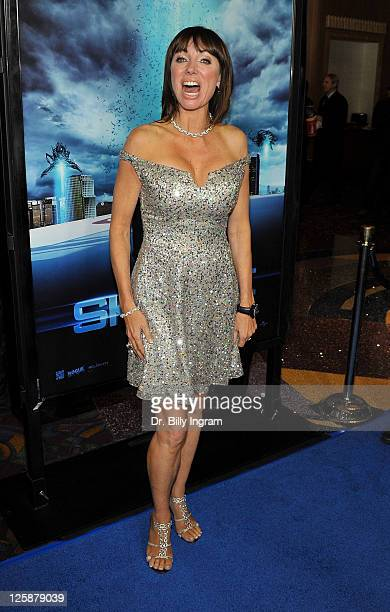 Actress Tanya Newbould arrives at the Skyline Los Angeles Premiere at Regal Cinemas LA Live on November 9 2010 in Los Angeles California