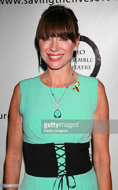 Actress Tanya Newbould attends 1 Voice An Evening of Monologues Music and Memories at NEO Ensemble Theatre on October 5 2010 in Hollywood California