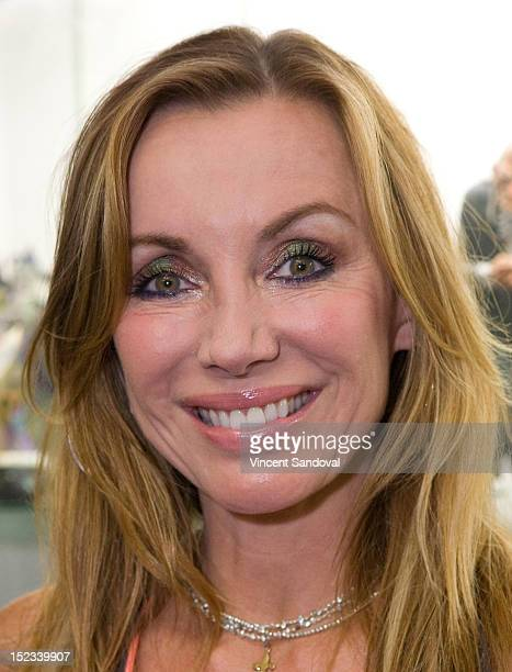 Actress Tanya Newbould attends The Victim DVD Signing And Release Party at Dark Delicacies Bookstore on September 18 2012 in Burbank California