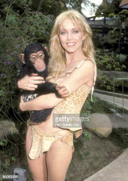 Actress Tanya Roberts At An Exclusive Photo Session To