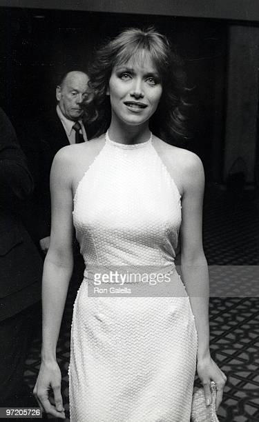 Actress Tanya Roberts attending 'International Broadcasting Awards' on March 3 1981 at the Century City California