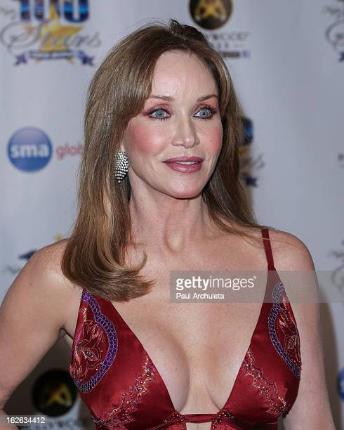 Actress Tanya Roberts attends the 23rd annual Night Of 100 Stars Oscars viewing gala at the Beverly Hills Hotel on February 24 2013 in Beverly Hills...