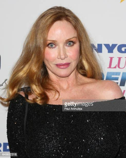 Actress Tanya Roberts attends the 27th annual Night Of 100 Stars black tie dinner viewing gala at The Villa Aurora on February 26 2017 in Pacific...
