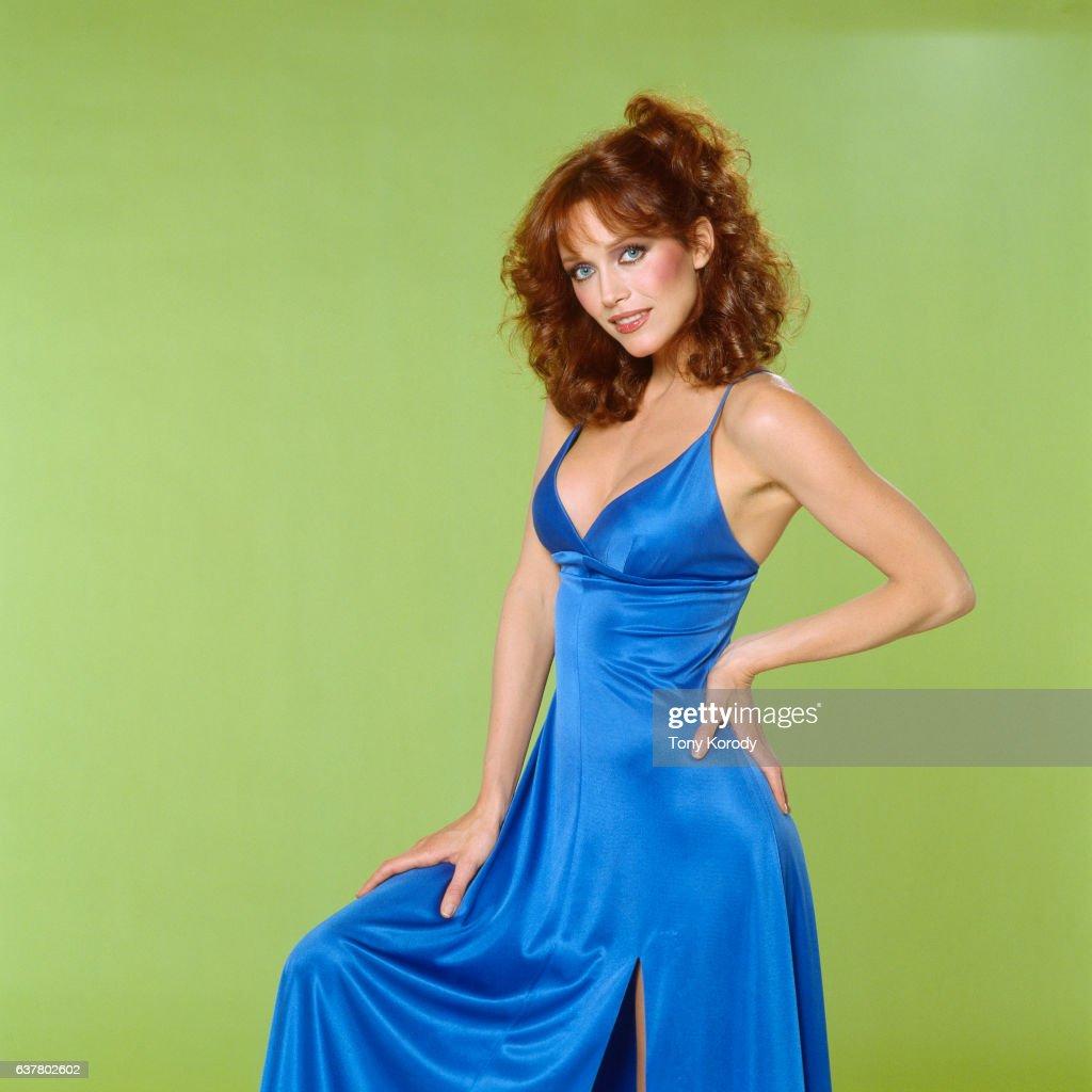 Actress Tanya Roberts : News Photo