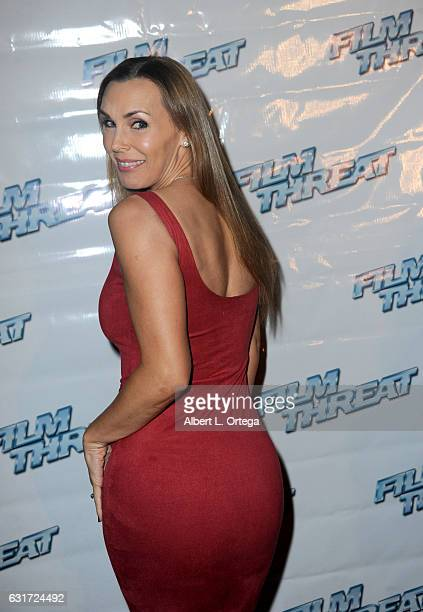 Actress Tanya Tate at the Launch Party For 'Film Threat' Online held at The Berrics on January 14 2017 in Los Angeles California