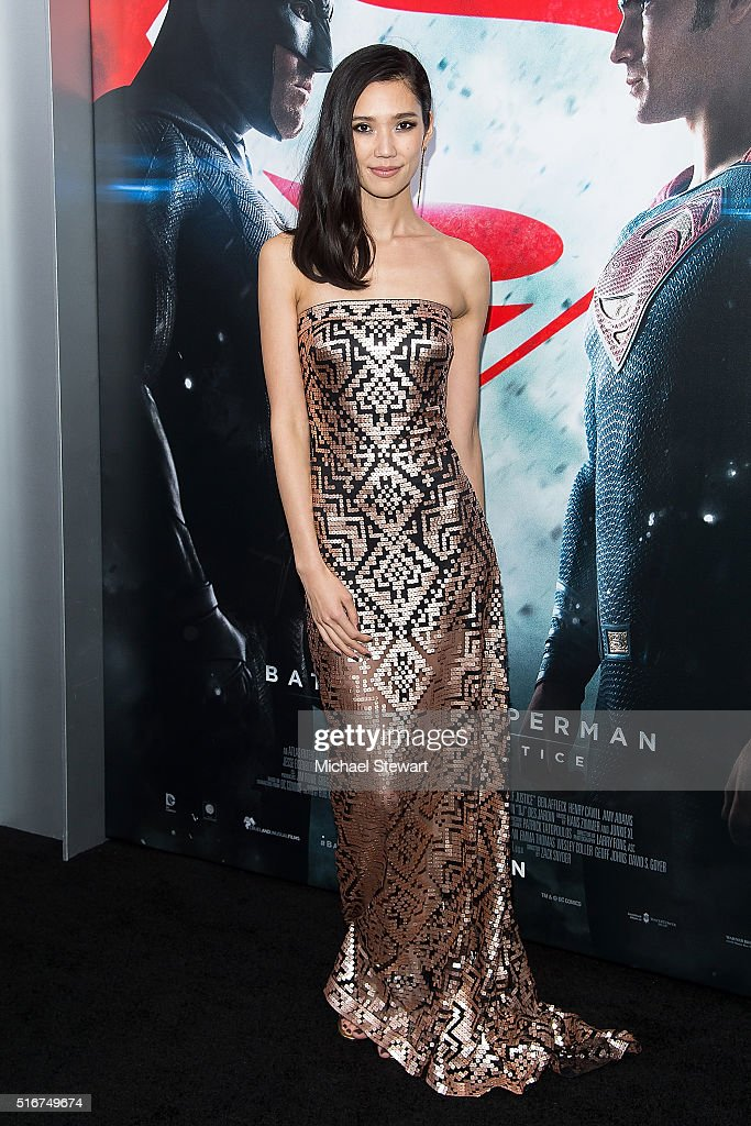 Actress Tao Okamoto attends the 'Batman V Superman: Dawn Of Justice' New York premiere at Radio City Music Hall on March 20, 2016 in New York City.
