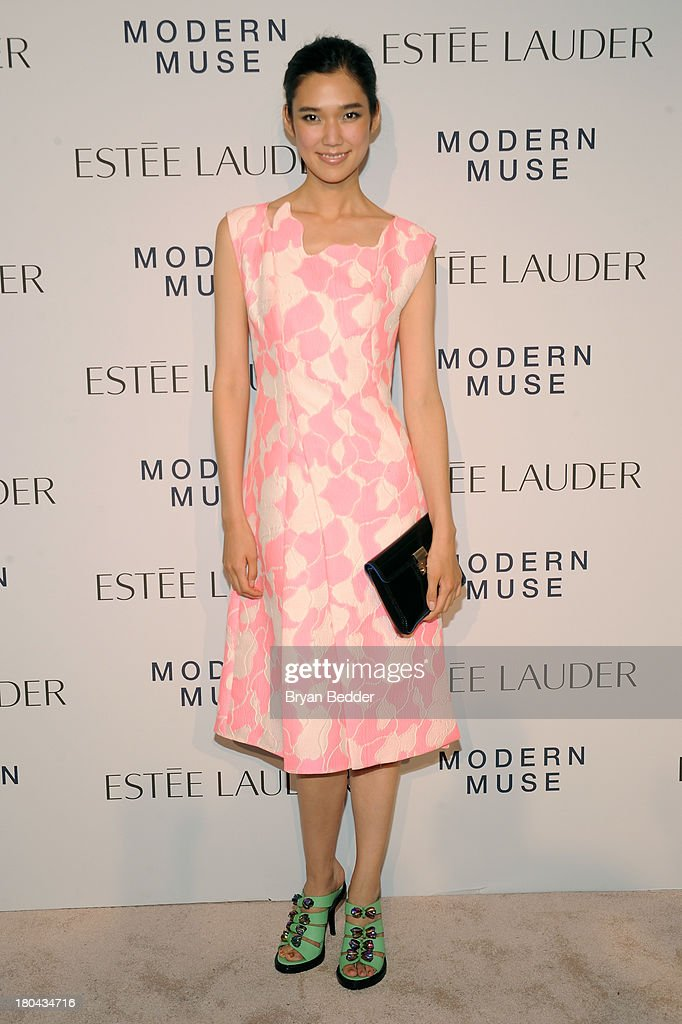 Actress Tao Okamoto attends the Estee Lauder 'Modern Muse' Fragrance Launch Party at the Guggenheim Museum on September 12, 2013 in New York City.