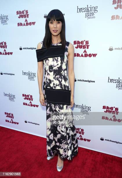 Actress Tao Okamoto attends the premiere of Breaking Glass Pictures' 'She's Just A Shadow' at ArcLight Hollywood on July 18, 2019 in Hollywood,...
